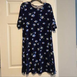 Old Navy Floral T-shirt Dress Sz. L NWT